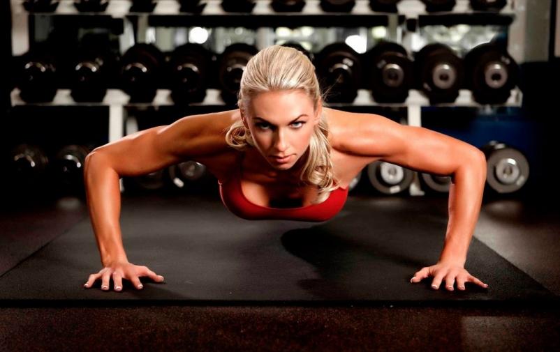 Выполняйте физические упражнения чтобы похудеть